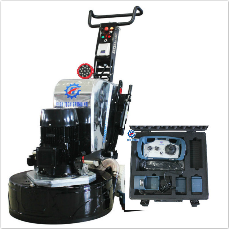 Telecontrolled floor grinding machine