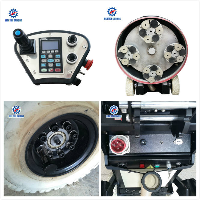 800-4D Grinder and polisher for construction use