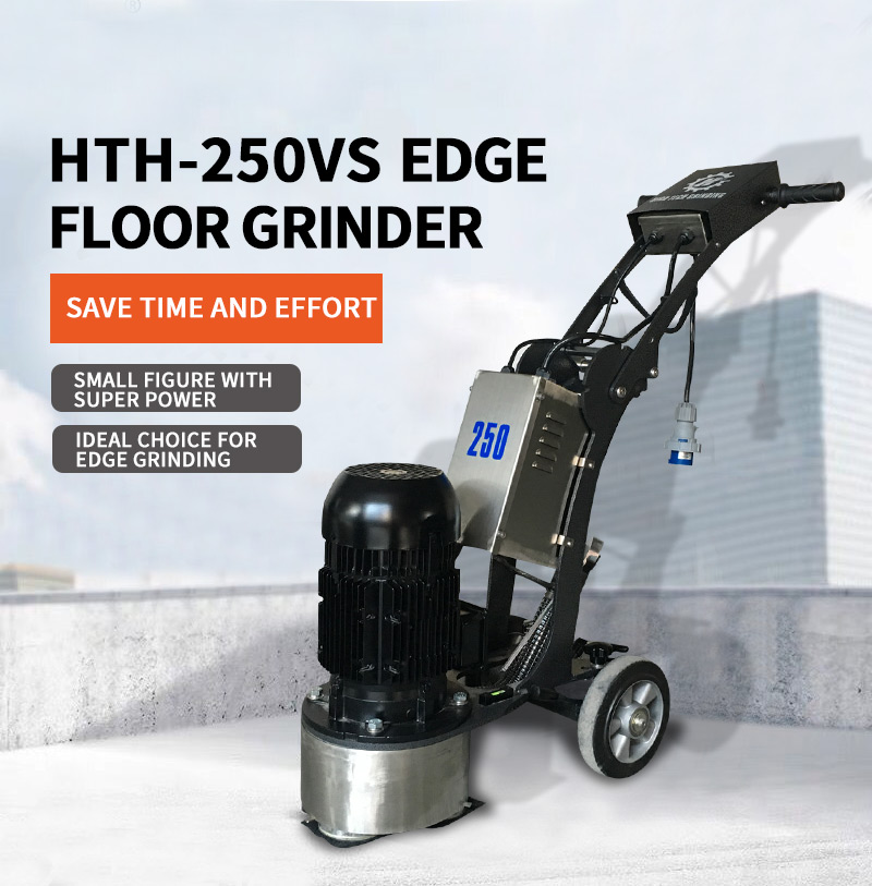 250mm floor grinder polisher machine