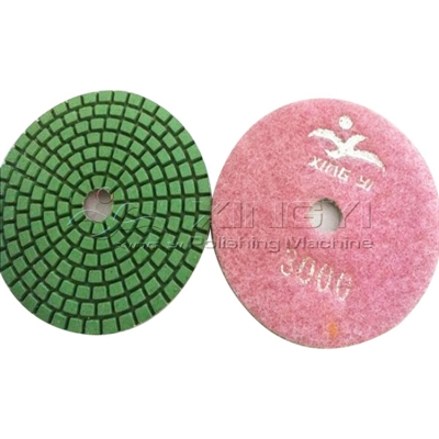stone polishing pad